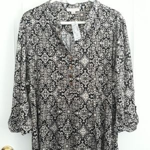 Womens Dressbarn blouse